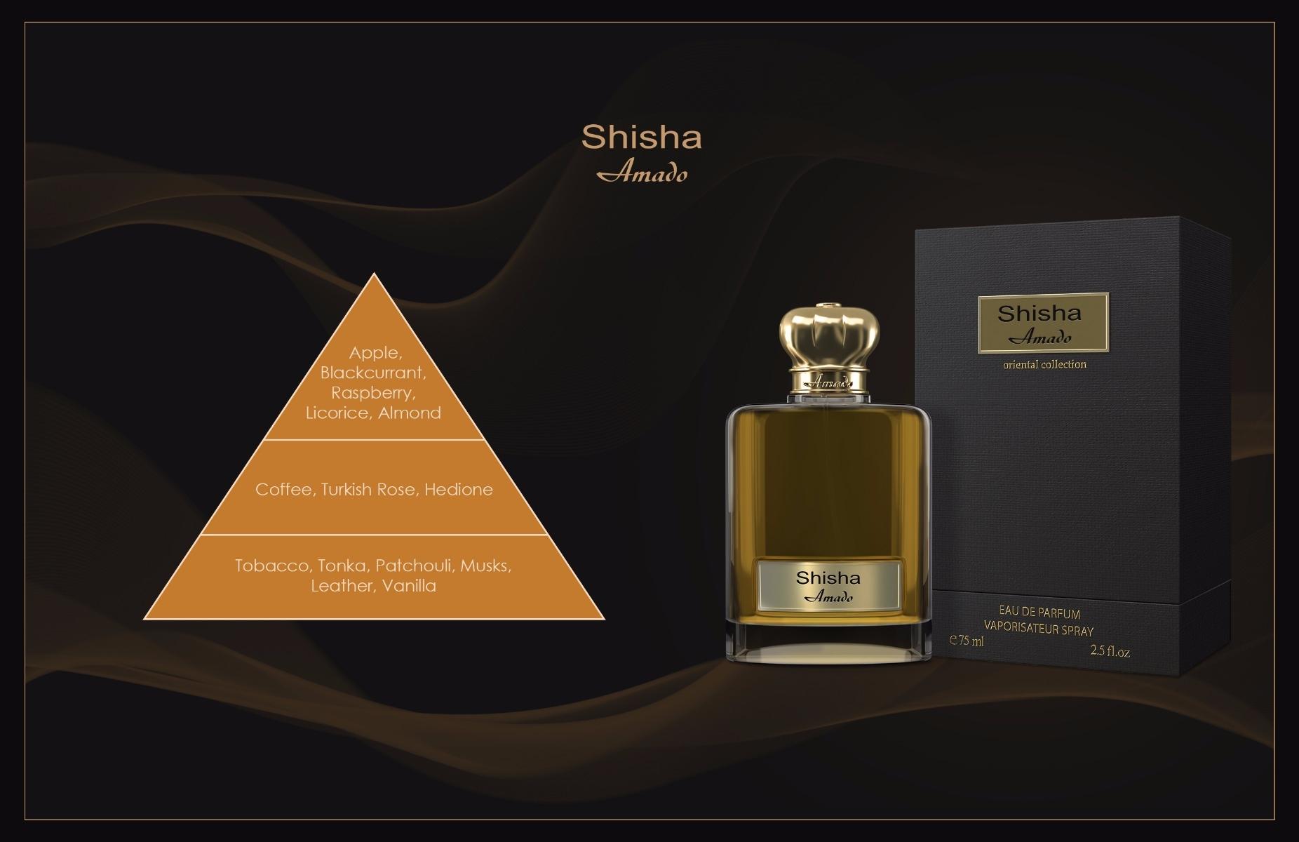 Shisha French Perfumes Amado Perfume